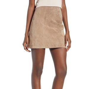 Blank NYC | A-Line Suede Skirt | Size: S